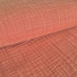 Cotton Baby Linen Roest Roze