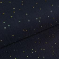 Mousseline Gold Speckles...