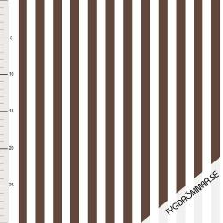 Vertical Lines - Brown TD