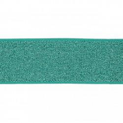 Elastiek Lurex Mint 4cm