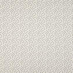 Jersey Dots off-white-zwart