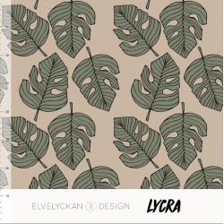 Lycra Monstera Cappuccino