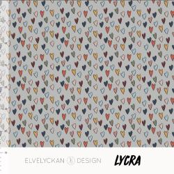 Lycra Hearts Desert