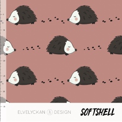 Softshell - Hedgehog Blush...