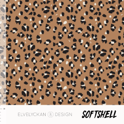 Softshell - Lynx Dots Toffee