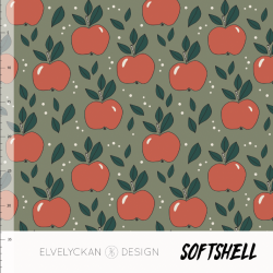 Softshell - Apples Green