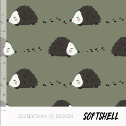 Softshell - Hedgehog Green...