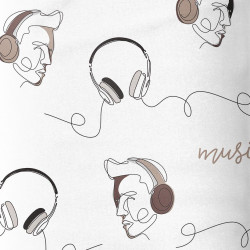 Music Headset French Terry