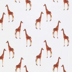 Ribbel Jersey Giraffe Kudde