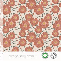 Floral - Creme (027)