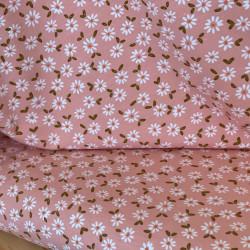 Jersey GOTS Daisy Pink Salmon