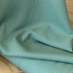 Rekbare Wafel Dusty Green