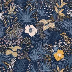 Tropical Oker/Blauw Jersey