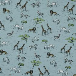 Safari In Africa Blauw Jersey