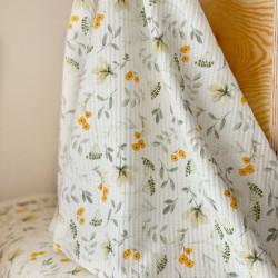 Rekbare Wafel Green Blossom