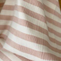 Hydrofiel Striped Light Pink