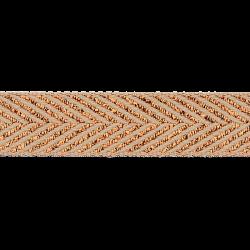 Visgraat Keperband Camel