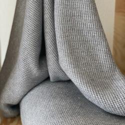 Soft Knit Lurex Grey