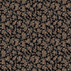 Poplin Mini Blossom Black