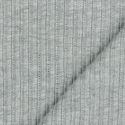 Cable Knit Melange Open...