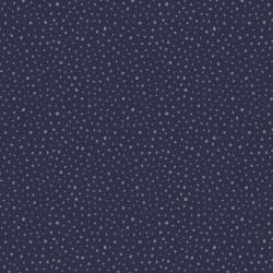Tricot Glitter Dots Navy/Blue