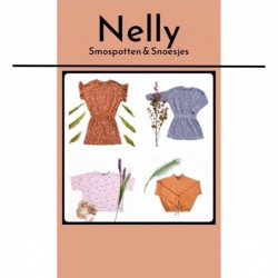 Nelly - Papieren Patroon A0