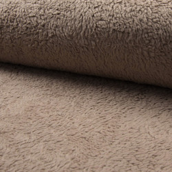 Cotton Teddy Taupe