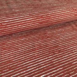 Jersey Stripe Lines Stone