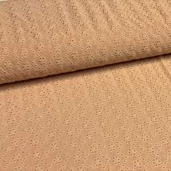 Broderie Tricot Camel