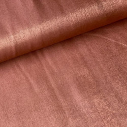 Viscose Shimmer Copper Rose