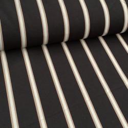 Multistripe Smal Zwart