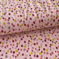 Terrazzo Glitter Jersey Pink
