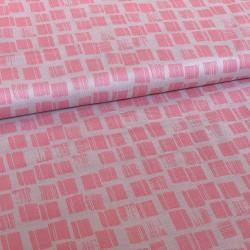 Musseline Zand, Print Roze