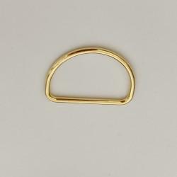 D-Ring Goud 40mm