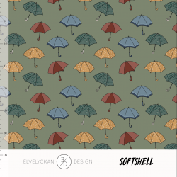 Softshell - Umbrella Green...