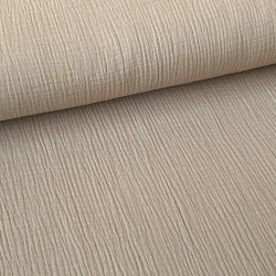 Cotton mousseline zand
