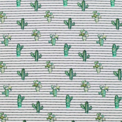 Jersey Digitaal Cactus Streep