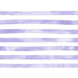 Aquarelle Streep Violet Jersey