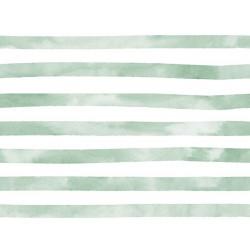 Aquarelle Streep Groen Jersey