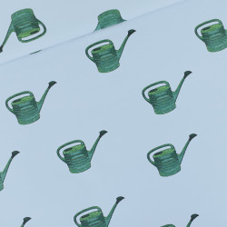 Watering Cans Mist Blue...