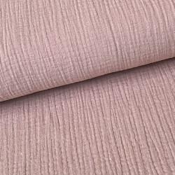 Cotton baby linen oud roze