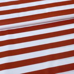 Poplin Stripe Roest
