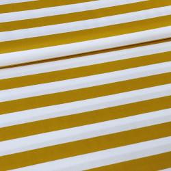 Poplin Stripe Oker
