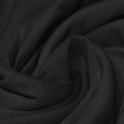 Katoen Jersey Zwart