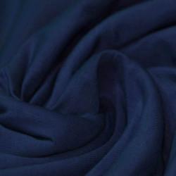 Katoen Jersey Marine Blauw