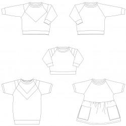 Isa Kids - papieren patroon
