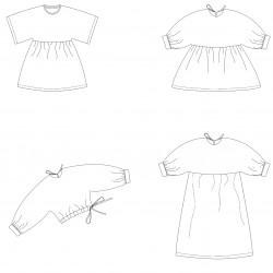 Vita Kids - papieren patroon