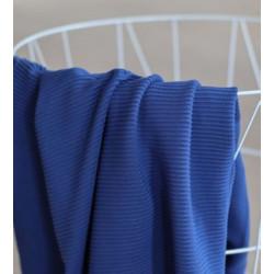 Self-Stripe Ottoman Knit Lapis