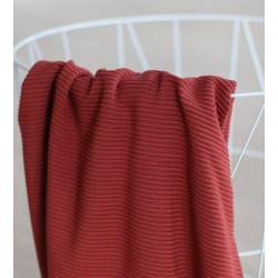 Self-Stripe Ottoman Knit Cider