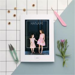 Hanami - Papieren Patroon A0